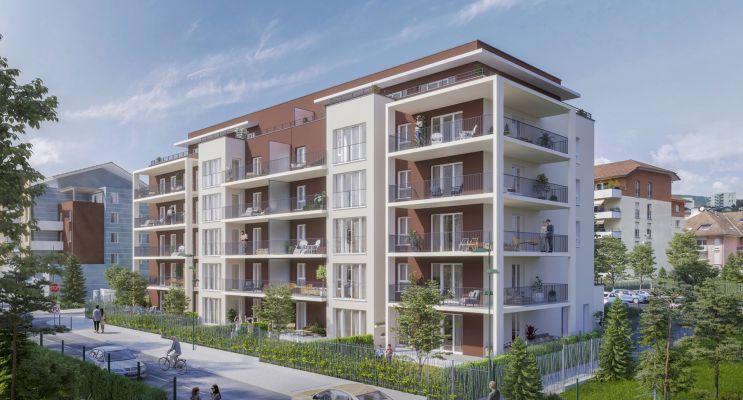 Bellegarde-sur-Valserine : programme immobilier neuf « Valserin »