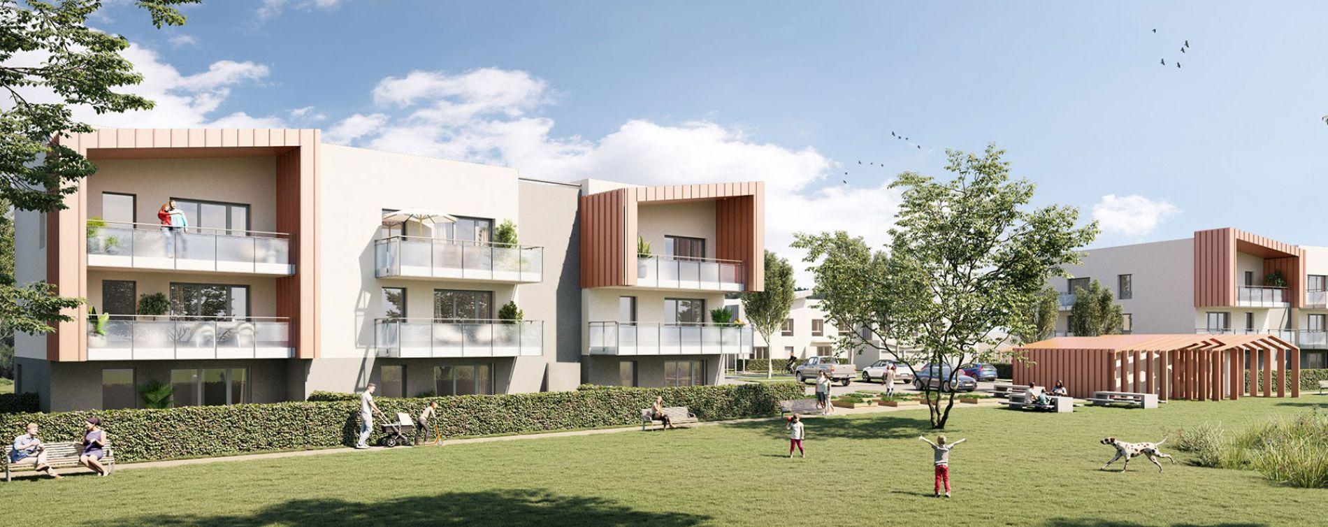 Beynost : programme immobilier neuve « Serenity »