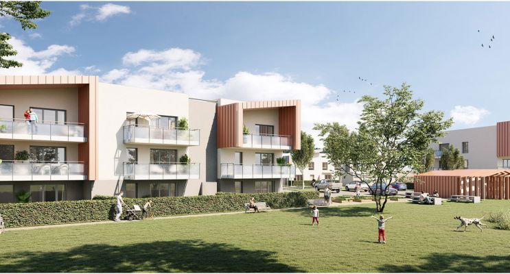 Photo du Résidence « Serenity » programme immobilier neuf en Loi Pinel à Beynost