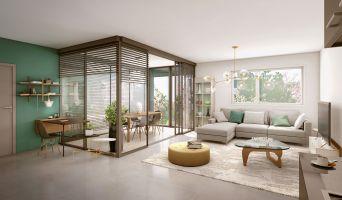 Bourg-en-Bresse programme immobilier neuve « Espace Milliat »  (2)