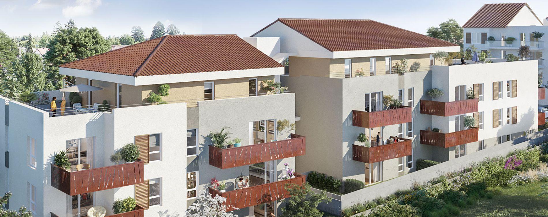 Collonges : programme immobilier neuve « Le Joris »