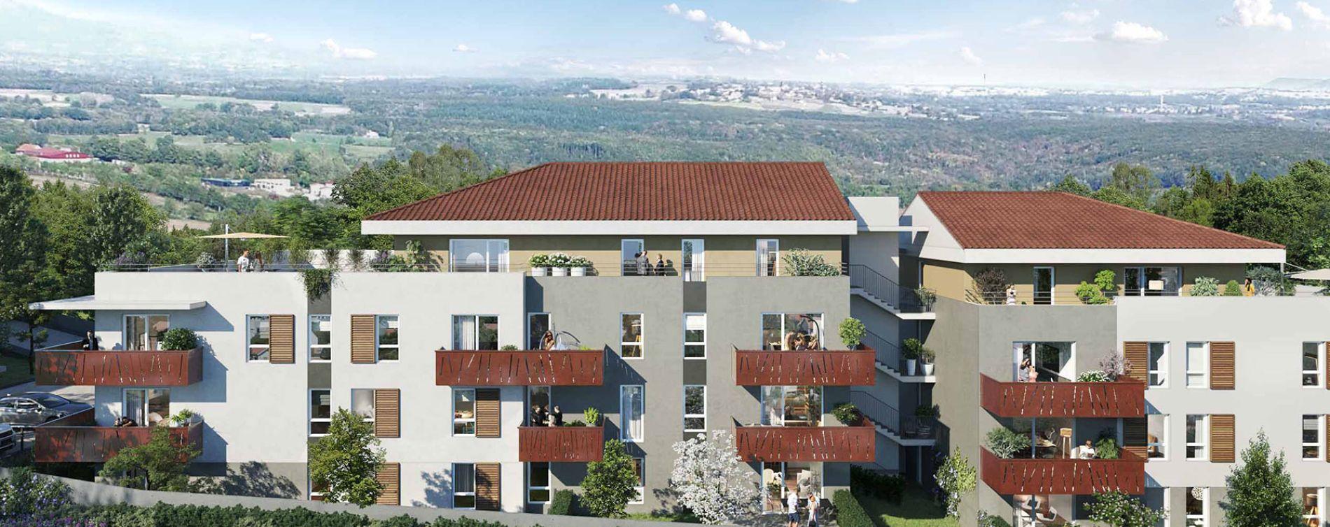 Collonges : programme immobilier neuve « Le Joris » (2)