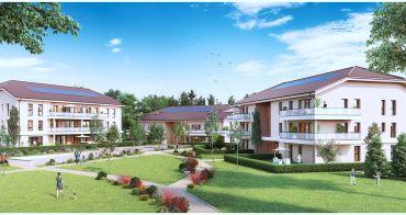 Crozet programme immobilier neuf « Le Domaine des Hivouettes » en Loi Pinel