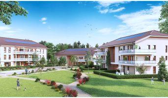 Crozet : programme immobilier neuf « Le Domaine des Hivouettes » en Loi Pinel