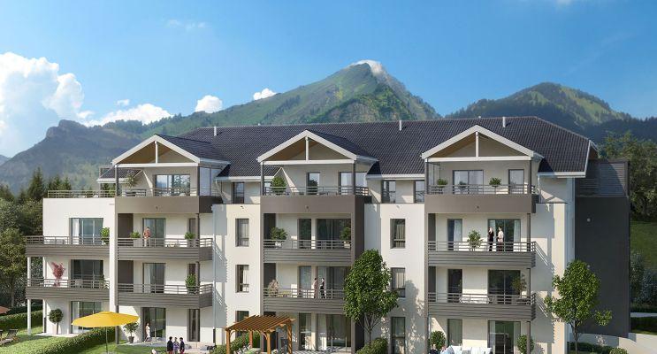 Photo du Résidence « Horizon Nature » programme immobilier neuf en Loi Pinel à Divonne-les-Bains