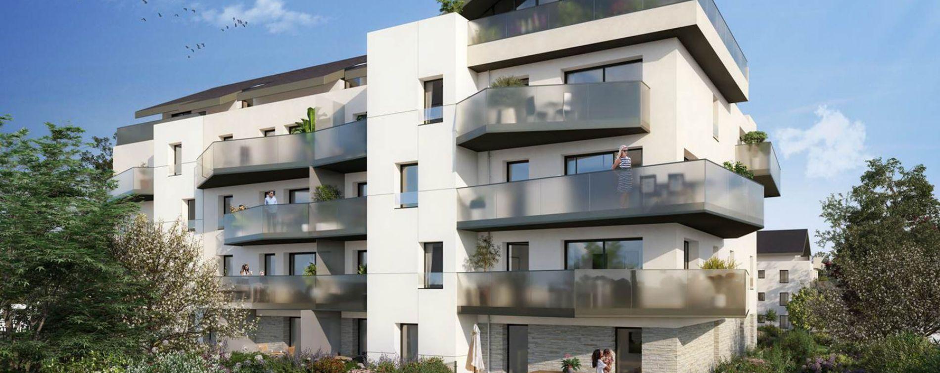 Divonne-les-Bains : programme immobilier neuve « Signature » en Loi Pinel