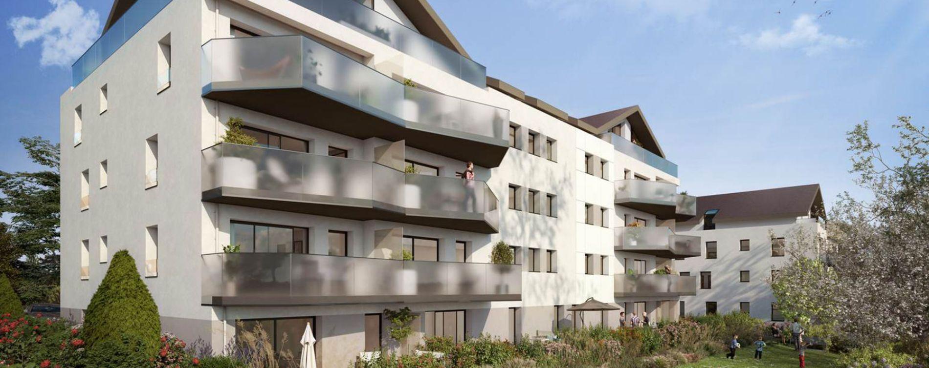 Divonne-les-Bains : programme immobilier neuve « Signature » en Loi Pinel (2)
