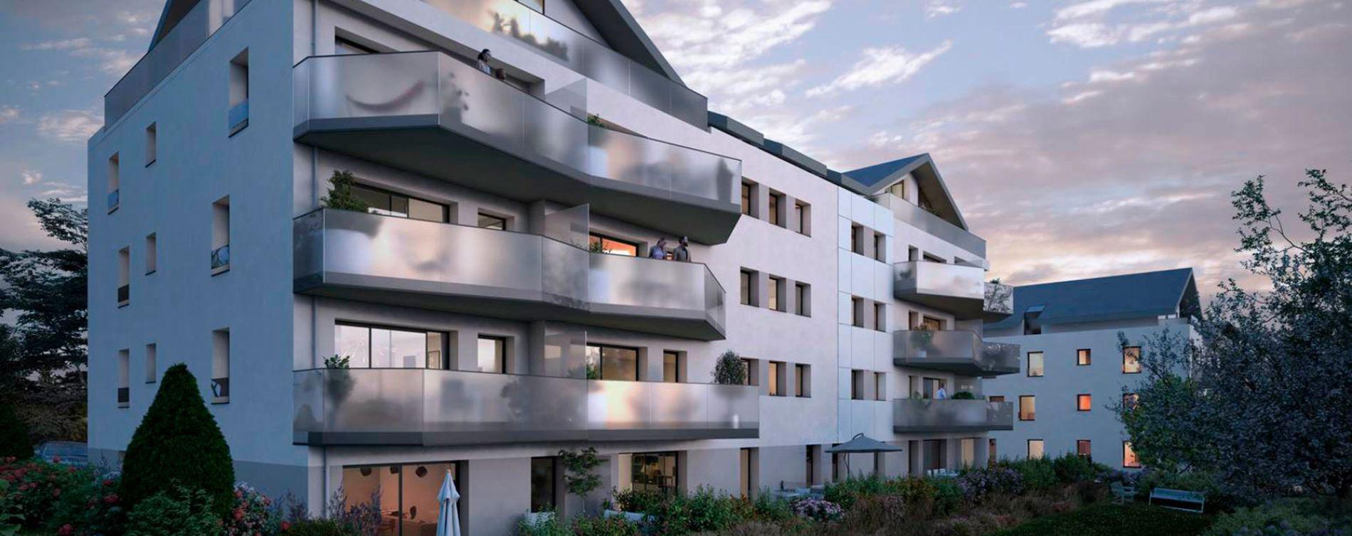 Divonne-les-Bains : programme immobilier neuve « Signature » en Loi Pinel (3)
