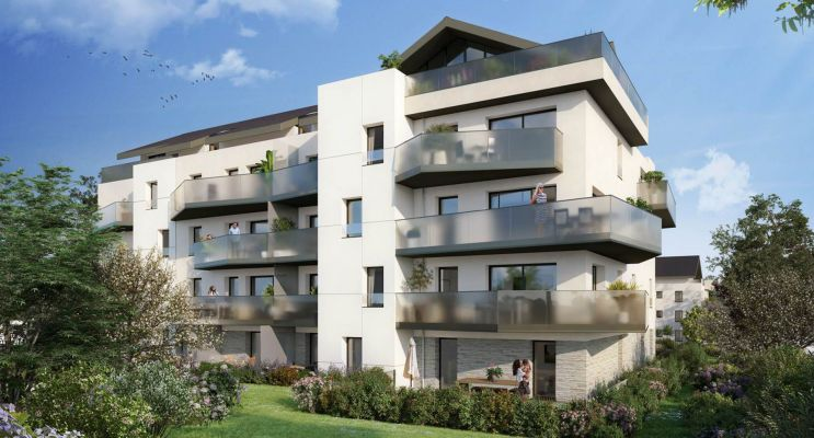 Photo du Résidence « Signature » programme immobilier neuf en Loi Pinel à Divonne-les-Bains