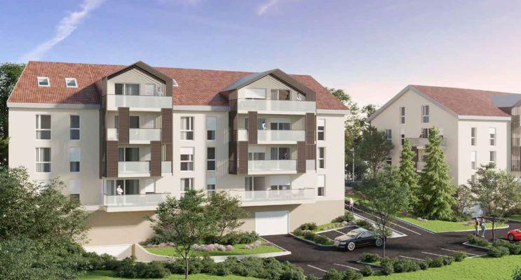 Photo n°1 du Résidence « Iconic Gex » programme immobilier neuf en Loi Pinel à Gex