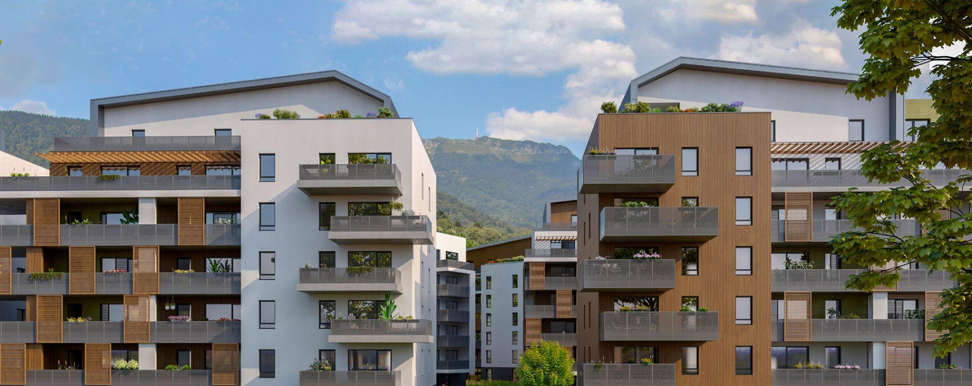 Gex : programme immobilier neuve « Terres Harmonie »