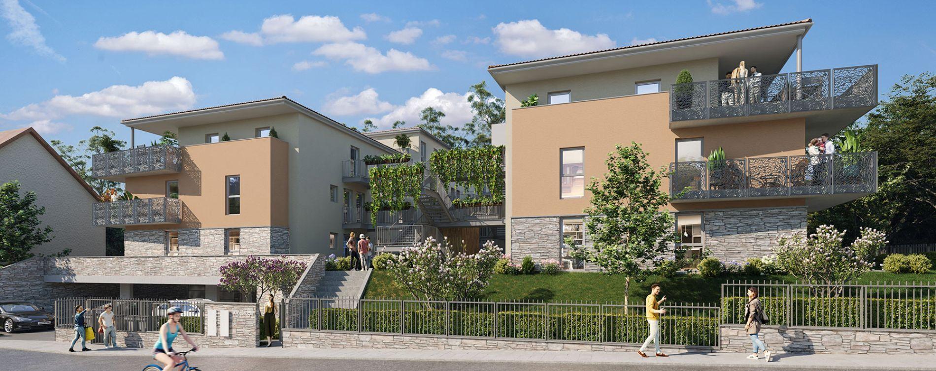 Jassans-Riottier : programme immobilier neuve « Amplitude » en Loi Pinel