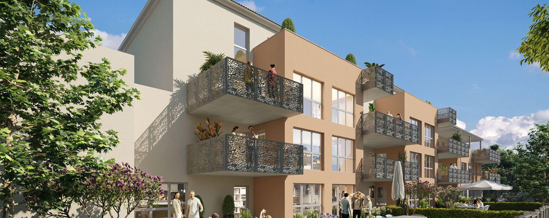 Jassans-Riottier : programme immobilier neuve « Amplitude » en Loi Pinel (2)