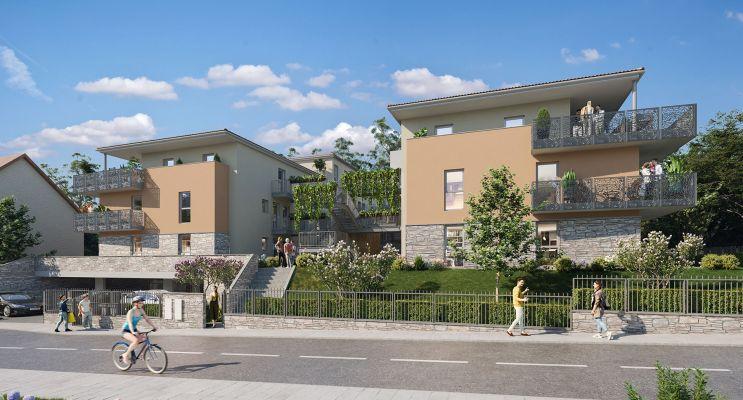 Photo du Résidence « Amplitude » programme immobilier neuf en Loi Pinel à Jassans-Riottier