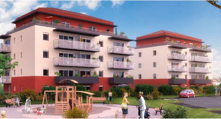 Photo du Résidence « TendanCIEL » programme immobilier neuf en Loi Pinel à Ornex