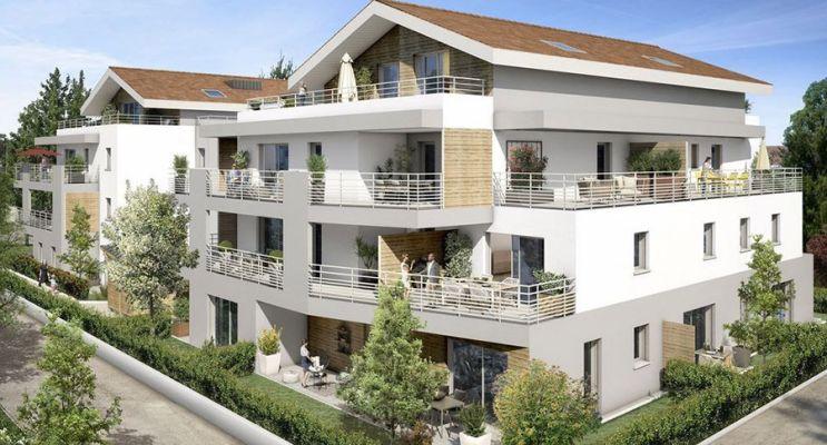 Photo du Résidence « Villa Séréna Prévessin Moens » programme immobilier neuf en Loi Pinel à Prévessin-Moëns