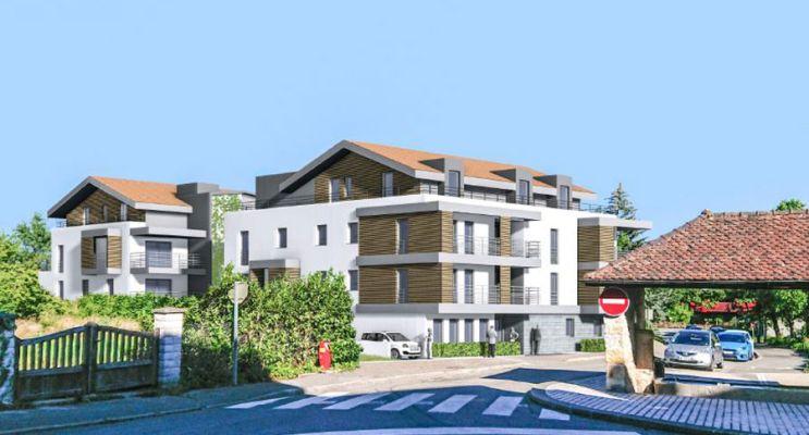 Résidence « Villa Séréna Prévessin Moens » programme immobilier neuf en Loi Pinel à Prévessin-Moëns n°2