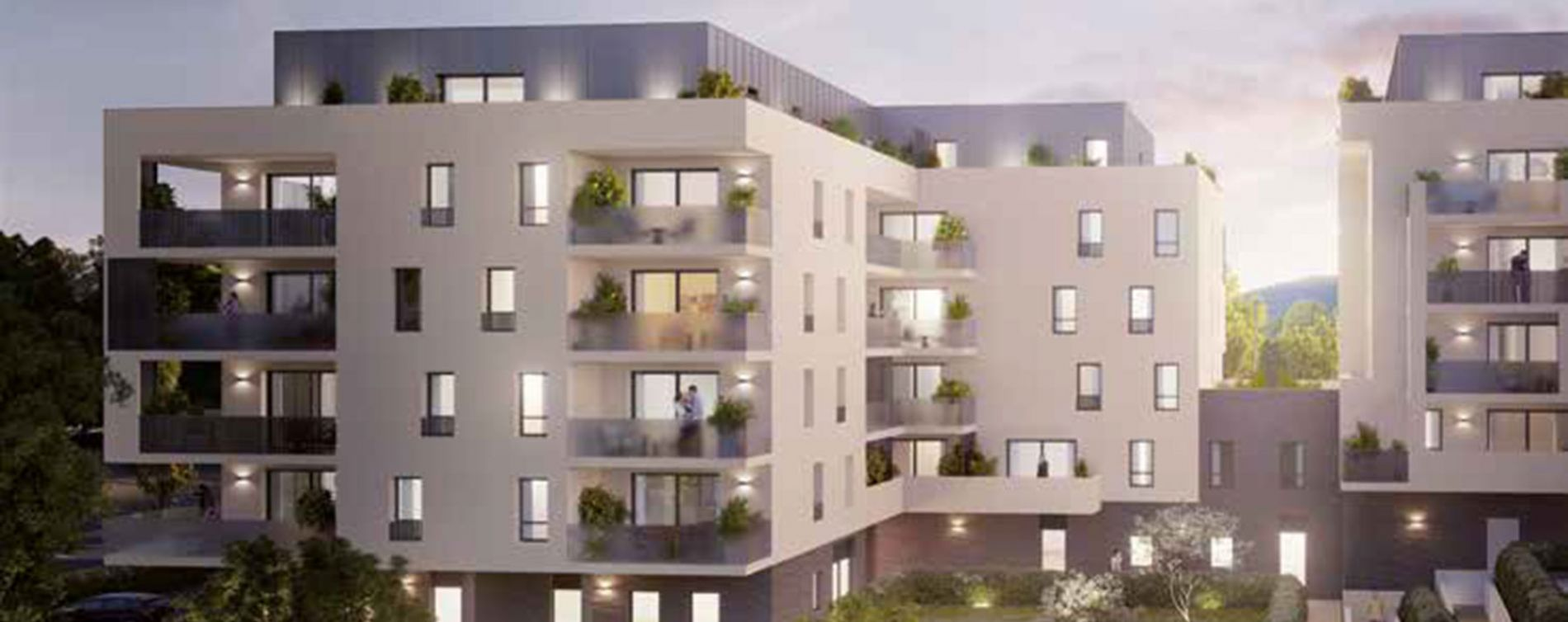 Saint-Genis-Pouilly : programme immobilier neuve « Atôm »