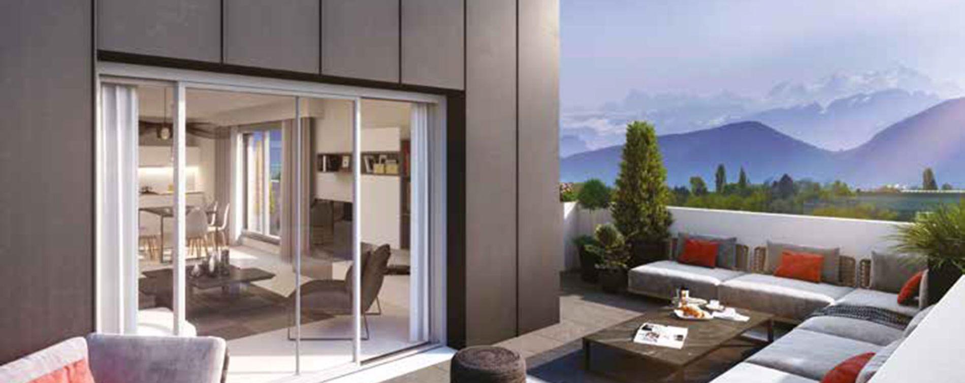 Saint-Genis-Pouilly : programme immobilier neuve « Atôm » (2)