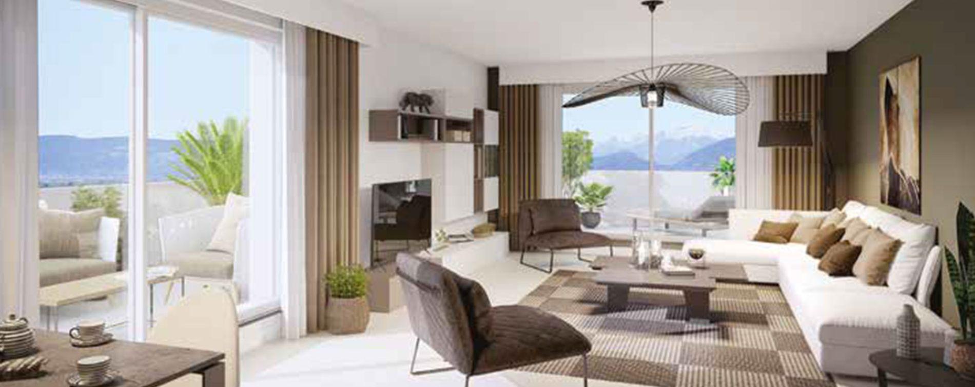 Saint-Genis-Pouilly : programme immobilier neuve « Atôm » (3)