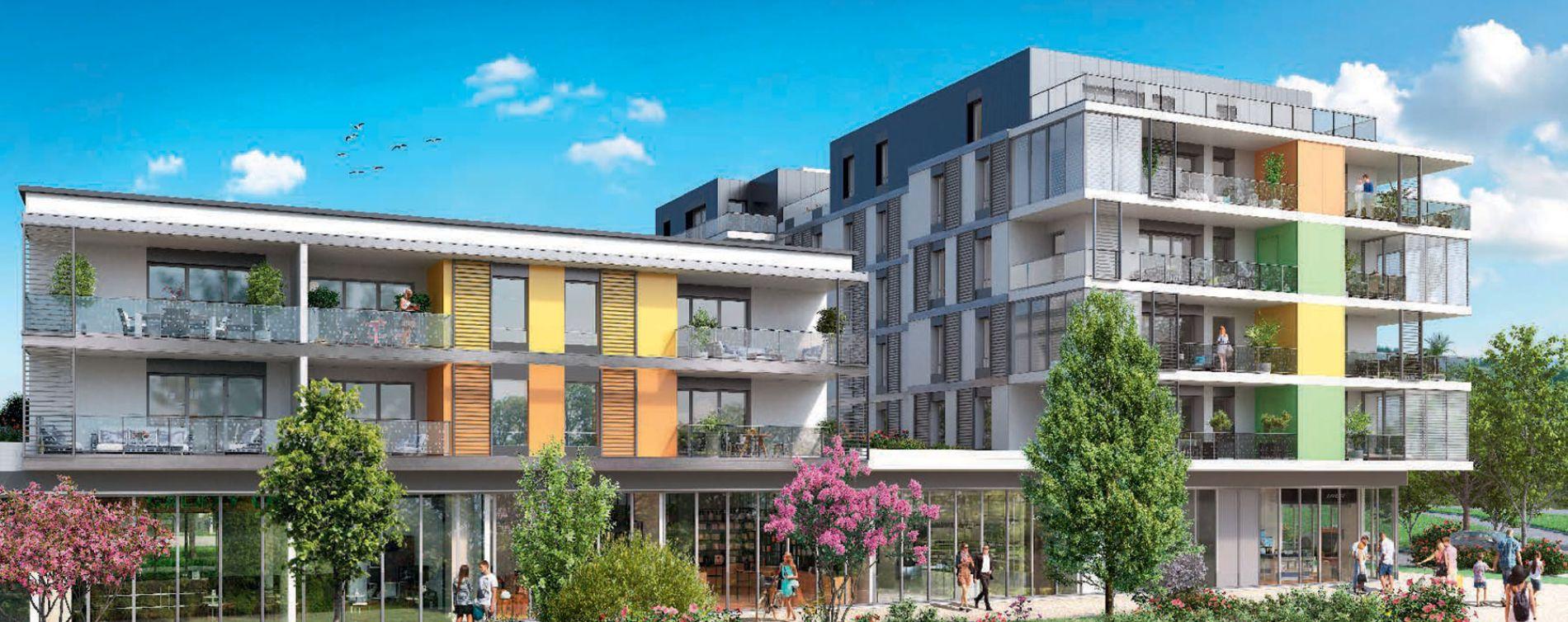 Saint-Genis-Pouilly : programme immobilier neuve « Connectis 2 - Emergence » en Loi Pinel