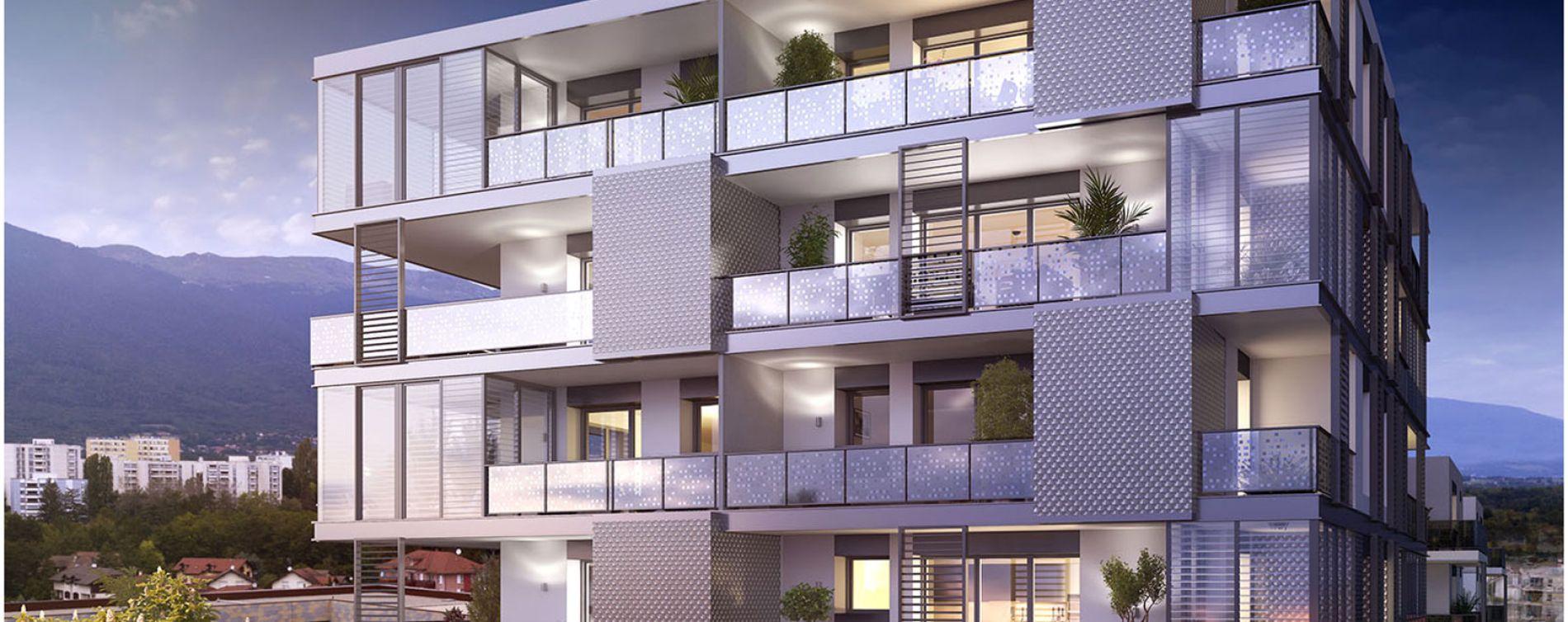 Saint-Genis-Pouilly : programme immobilier neuve « Connectis 2 - Emergence » en Loi Pinel (2)