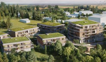 Saint-Genis-Pouilly : programme immobilier neuf « L'Archipel 2 » en Loi Pinel