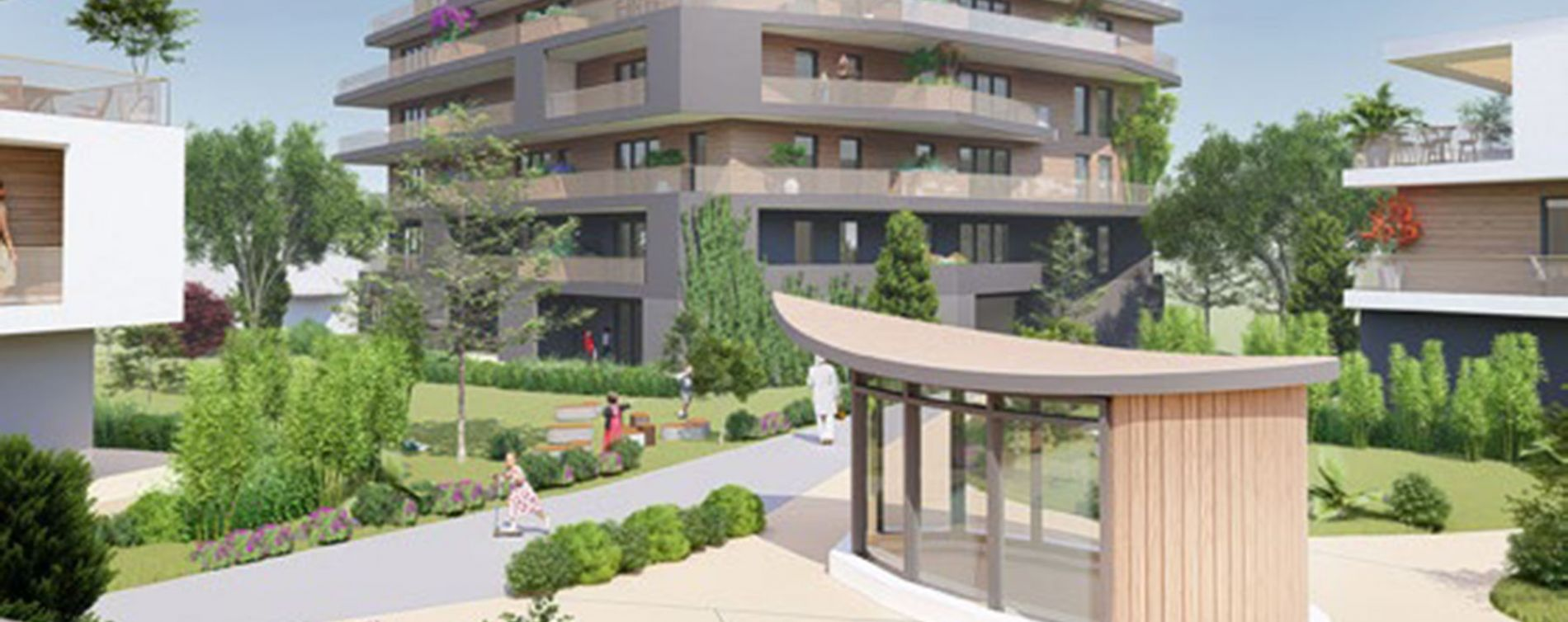 Résidence L'Archipel à Saint-Genis-Pouilly