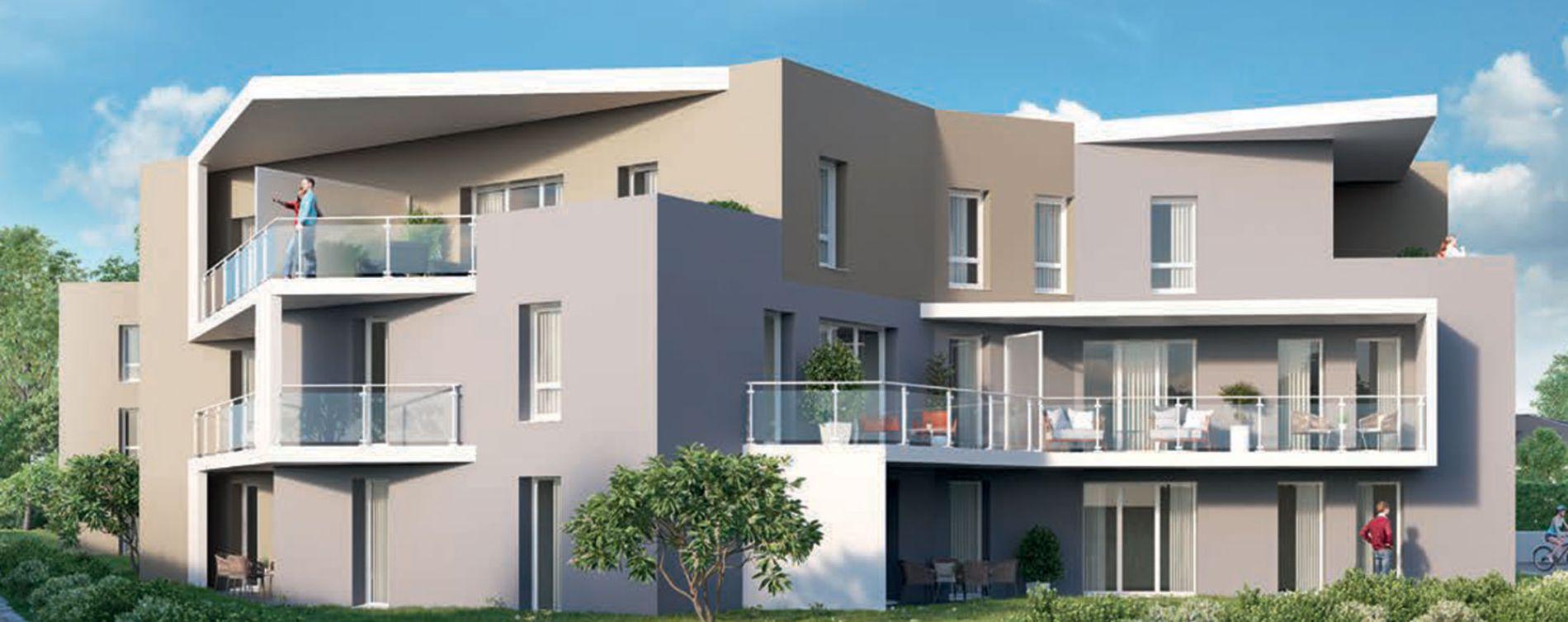 Saint-Genis-Pouilly : programme immobilier neuve « Le 65 » en Loi Pinel