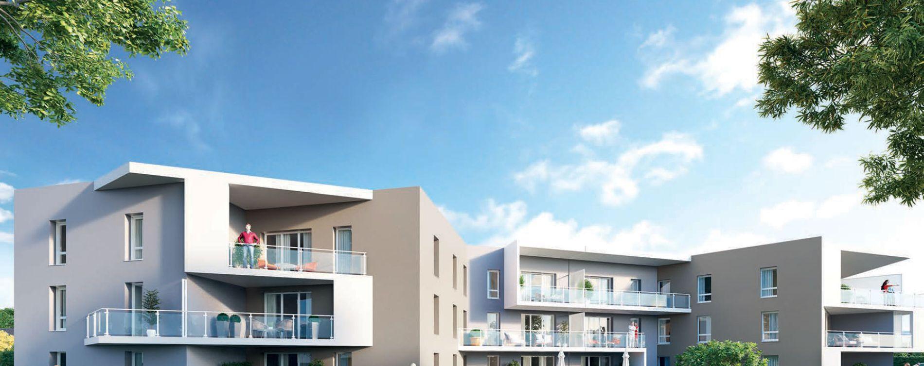 Saint-Genis-Pouilly : programme immobilier neuve « Le 65 » en Loi Pinel (2)