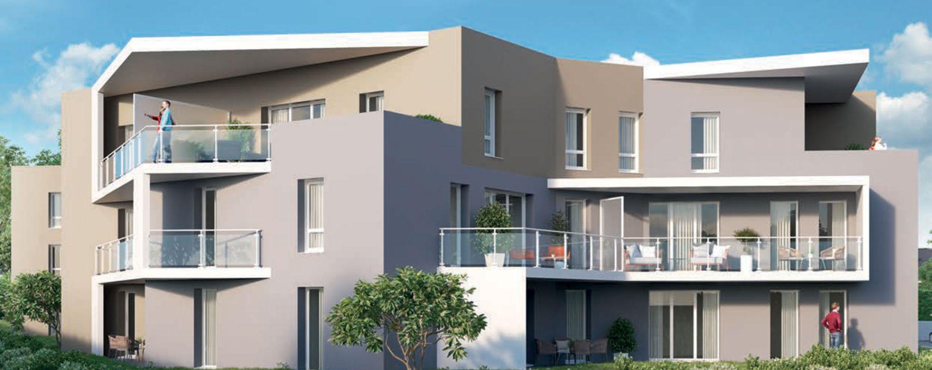 Saint-Genis-Pouilly : programme immobilier neuve « Le 65 » en Loi Pinel (3)