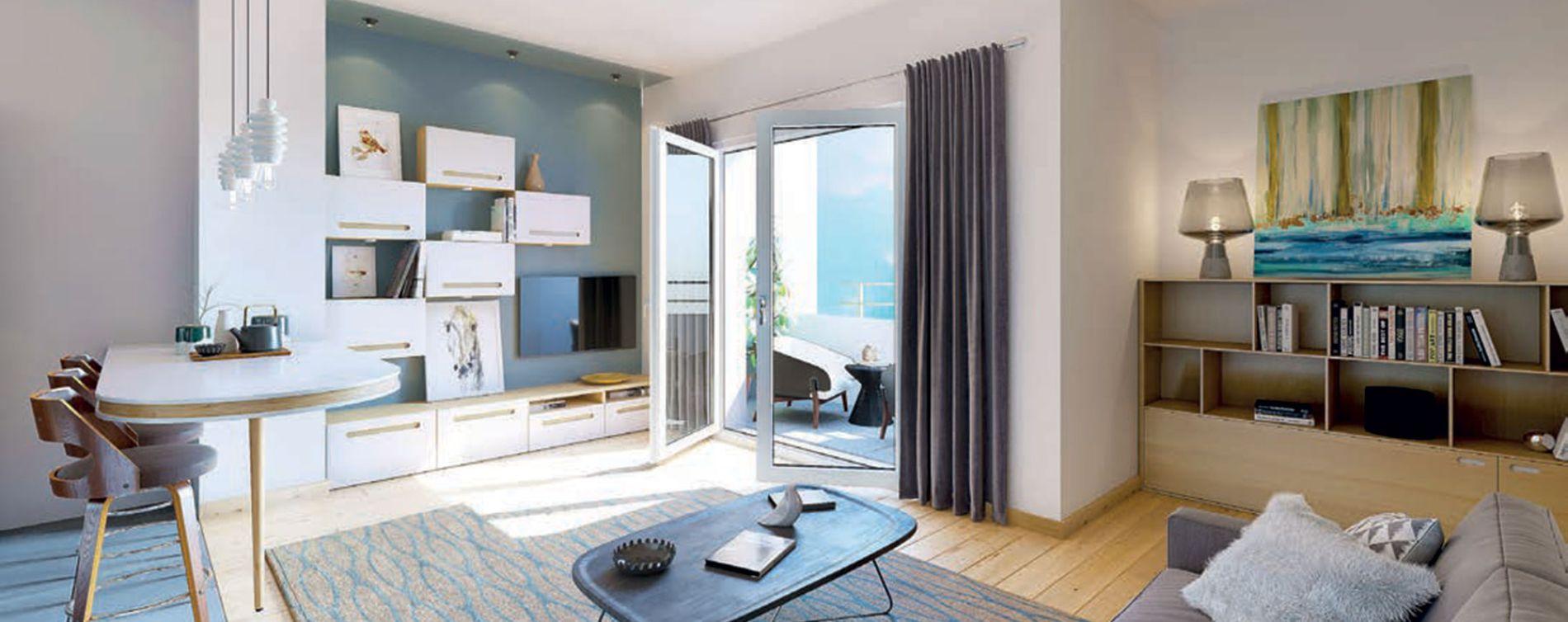 Saint-Genis-Pouilly : programme immobilier neuve « Le 65 » en Loi Pinel (4)