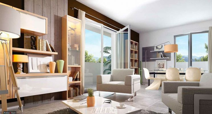 Résidence « Helvetio » programme immobilier neuf en Loi Pinel à Ségny n°3