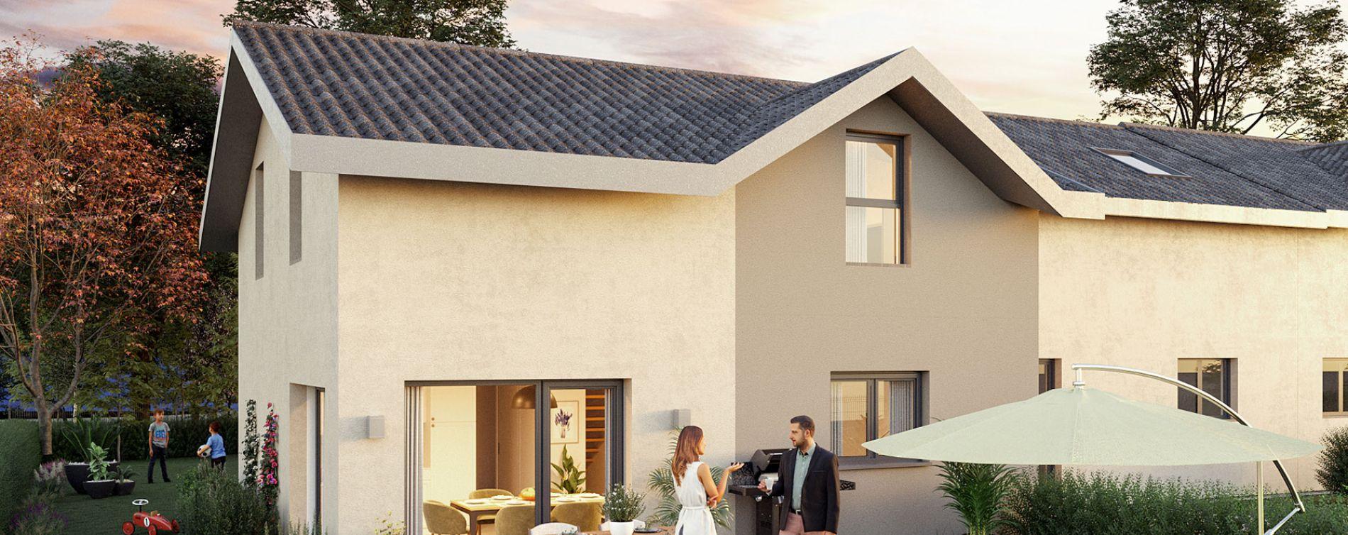 Ségny : programme immobilier neuve « Le Clos Journans »
