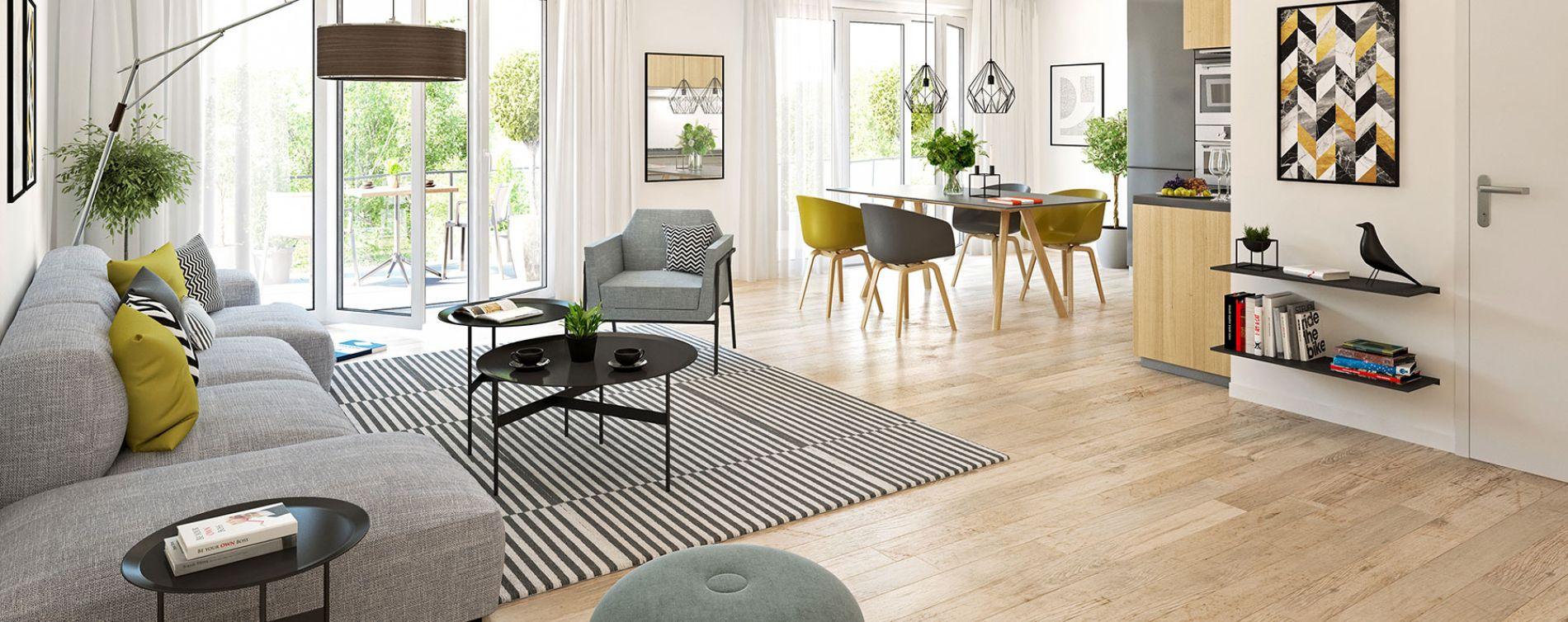 Ségny : programme immobilier neuve « Le Clos Journans » (2)