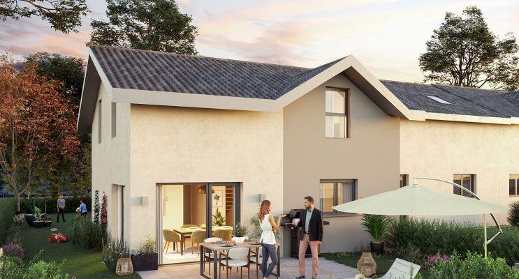 Ségny programme immobilier neuf « Le Clos Journans »