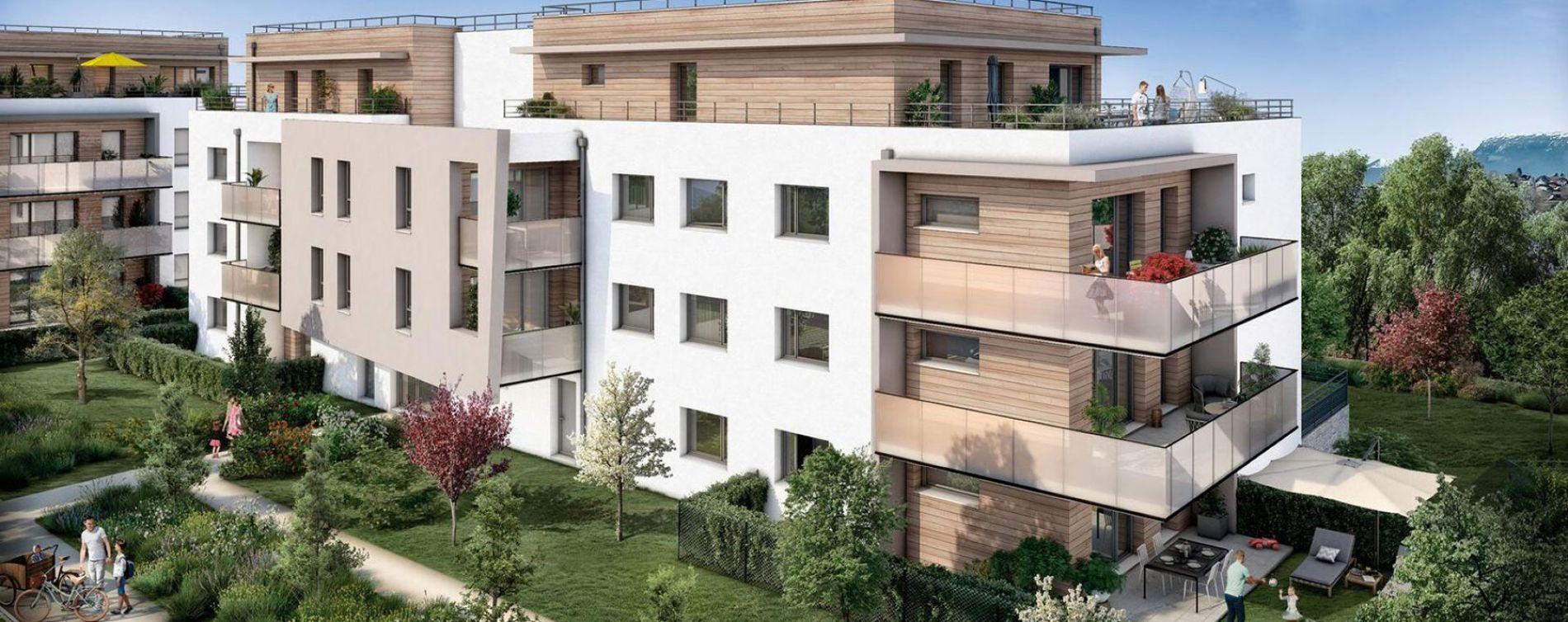 Allonzier-la-Caille : programme immobilier neuve « Programme immobilier n°217880 » en Loi Pinel