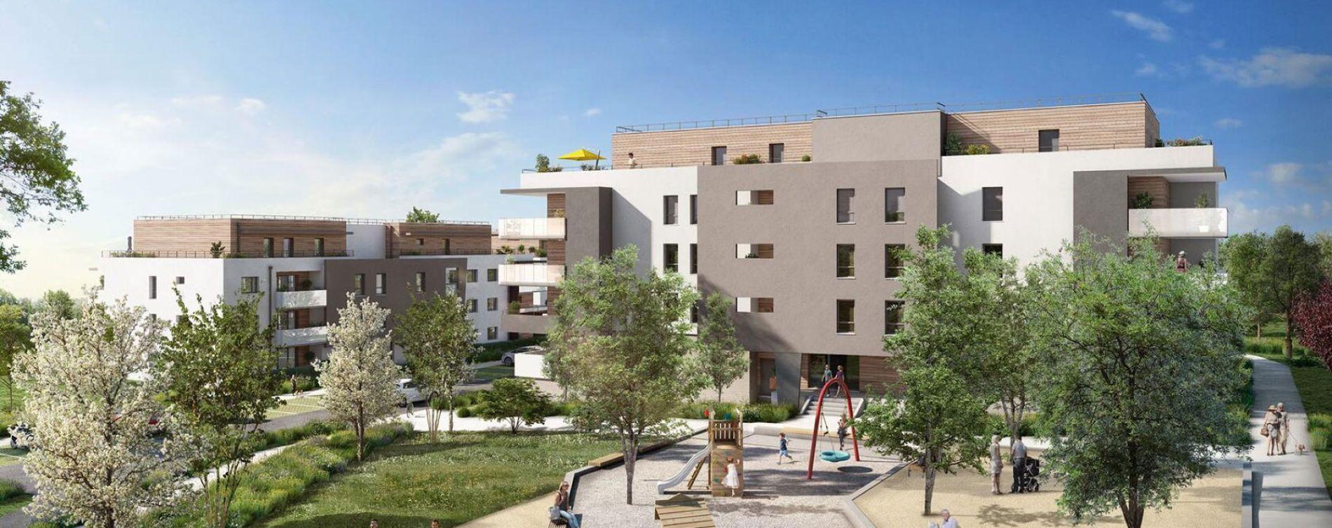 Allonzier-la-Caille : programme immobilier neuve « Programme immobilier n°217880 » en Loi Pinel (2)