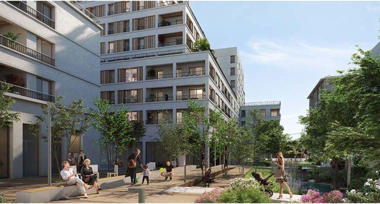Photo du Résidence « Archipel » programme immobilier neuf en Loi Pinel à Ambilly