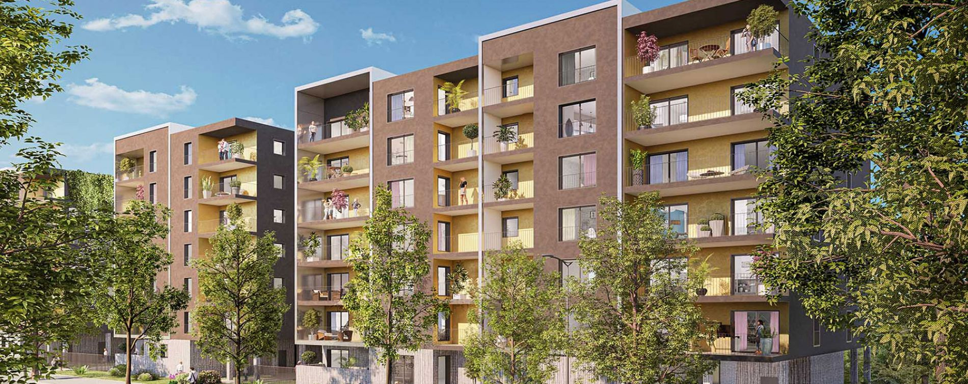 Annecy : programme immobilier neuve « In Folio » en Loi Pinel