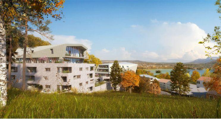 Annecy : programme immobilier neuf «  n°214520 » en Loi Pinel