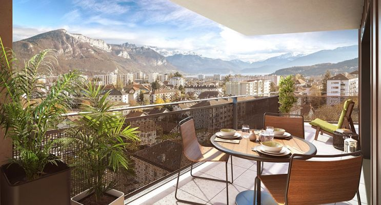 Résidence « L'Enecy » programme immobilier neuf en Loi Pinel à Annecy n°3