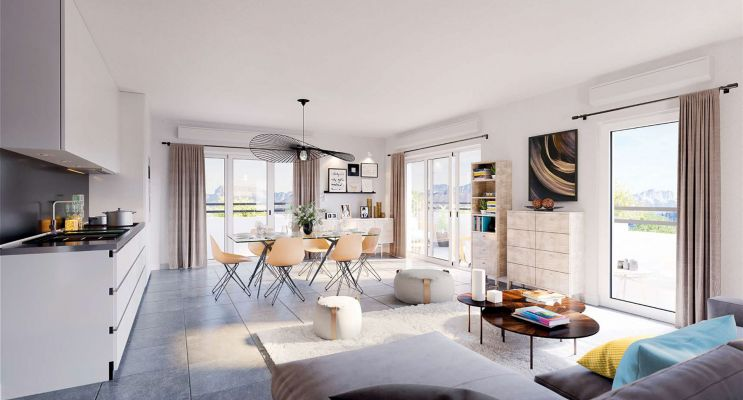 Photo du Résidence « Scenography » programme immobilier neuf en Loi Pinel à Annecy