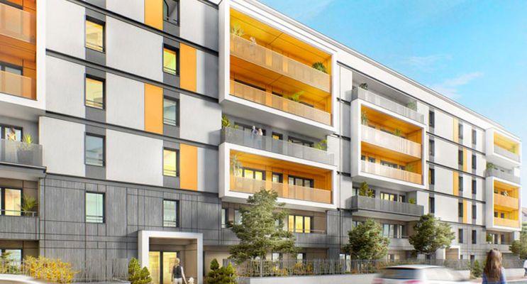 Annemasse : programme immobilier neuf « D'Clic » en Loi Pinel