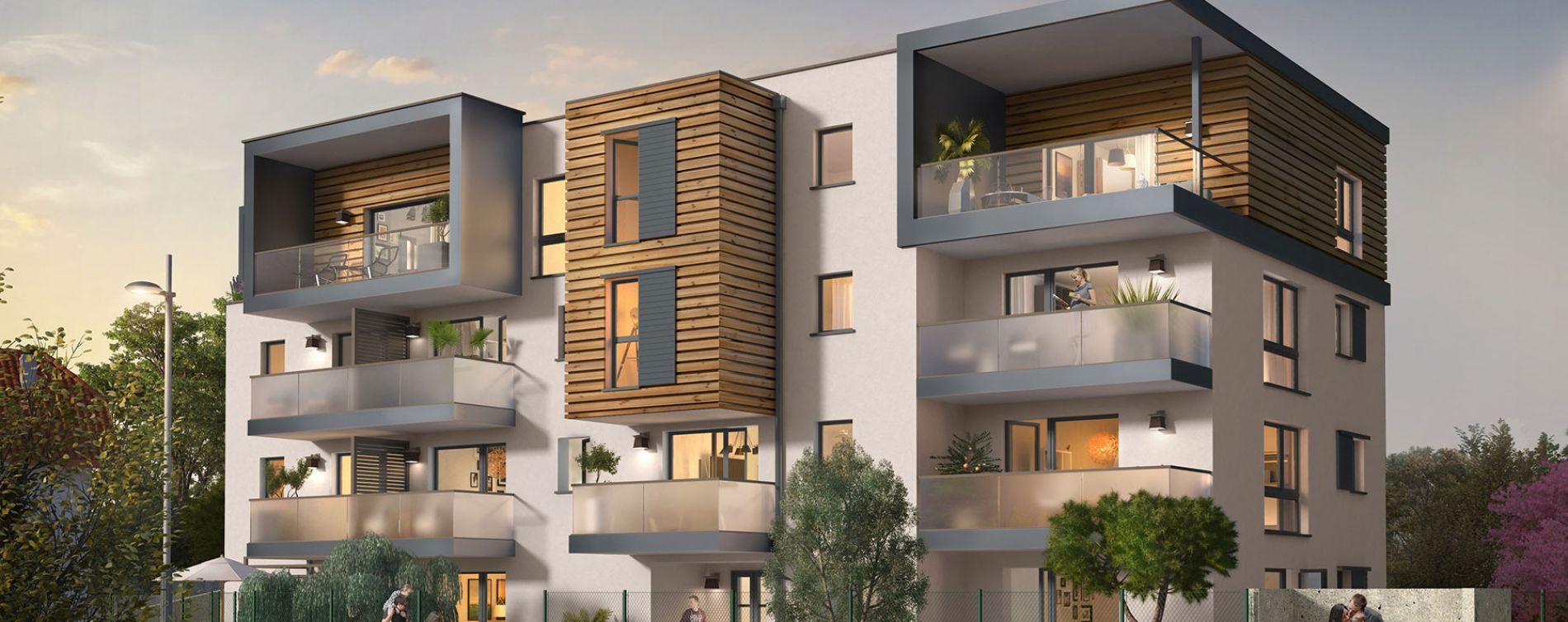 Annemasse : programme immobilier neuve « Duomo »