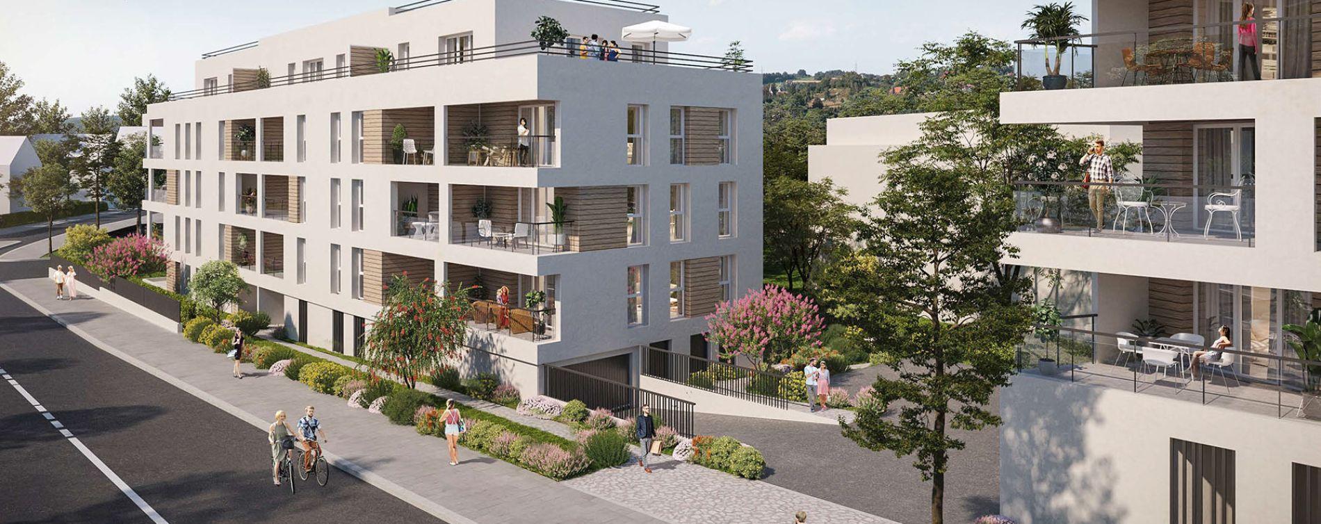 Annemasse : programme immobilier neuve « Opaline » en Loi Pinel