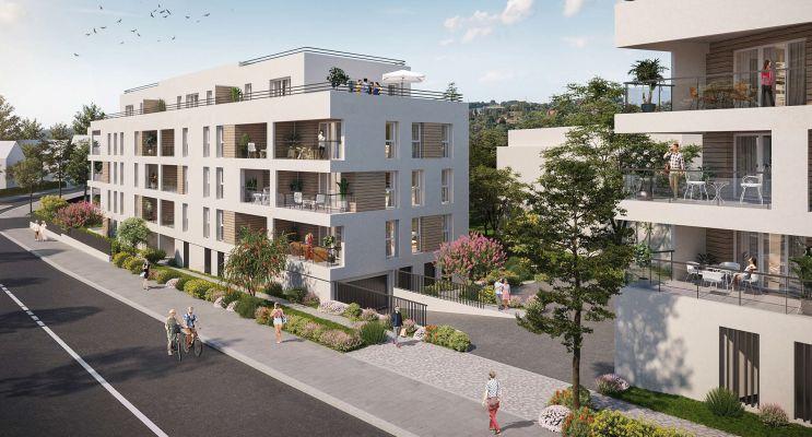 Annemasse : programme immobilier neuf « Opaline » en Loi Pinel