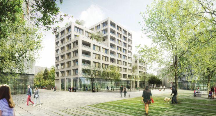 Annemasse : programme immobilier neuf « Quai N°4 » en Loi Pinel
