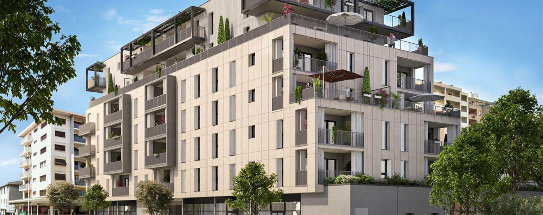 Annemasse : programme immobilier neuve « Résidence Nova » en Loi Pinel