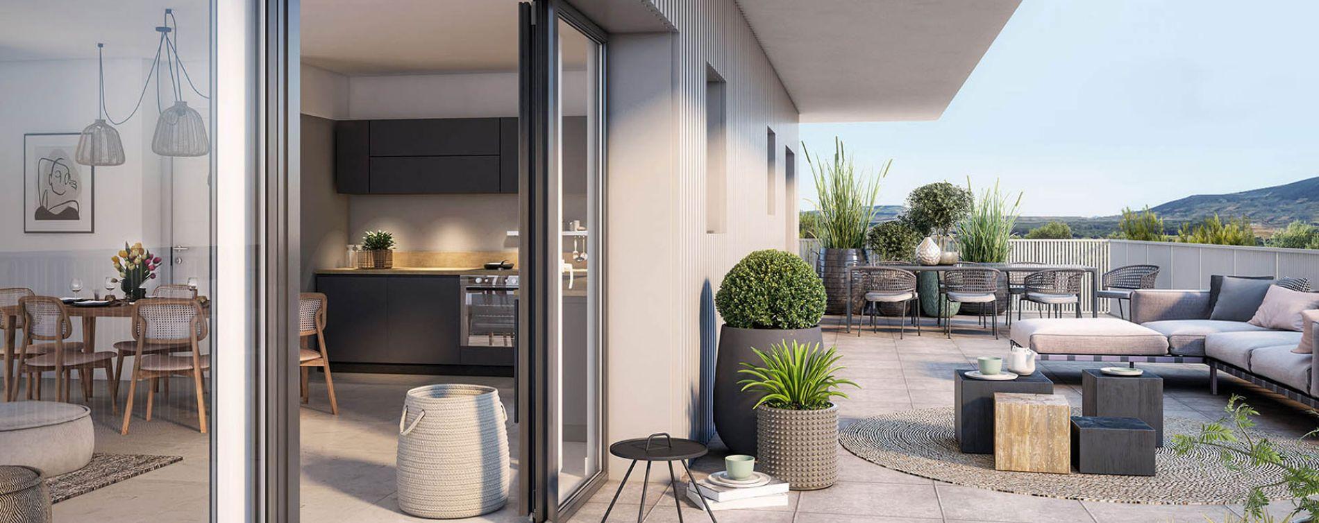 Annemasse : programme immobilier neuve « Résidence Nova » en Loi Pinel (4)